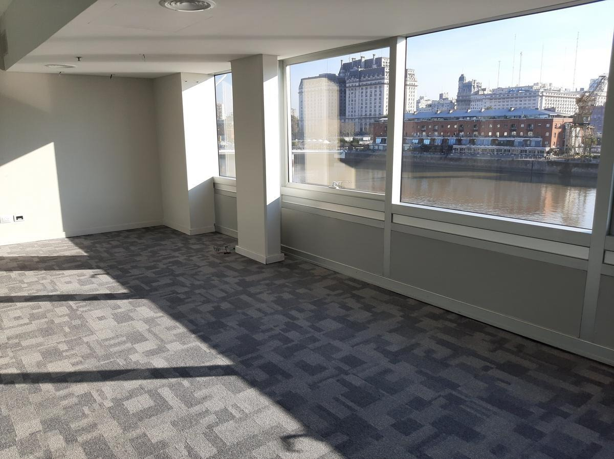 oficina en alquiler - 220 m2 - puerto madero