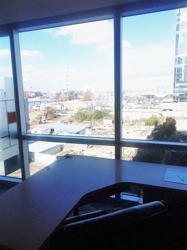 oficina en alquiler en madero harbour, torre 1. con 4 cocheras. amoblada