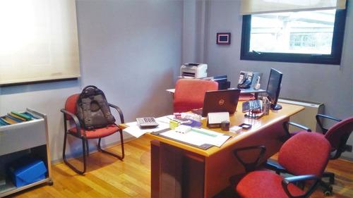 oficina en alquiler en puerto madero. 150m2. 2 cocheras