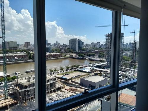 oficina en alquiler - puerto madero - 300 m2
