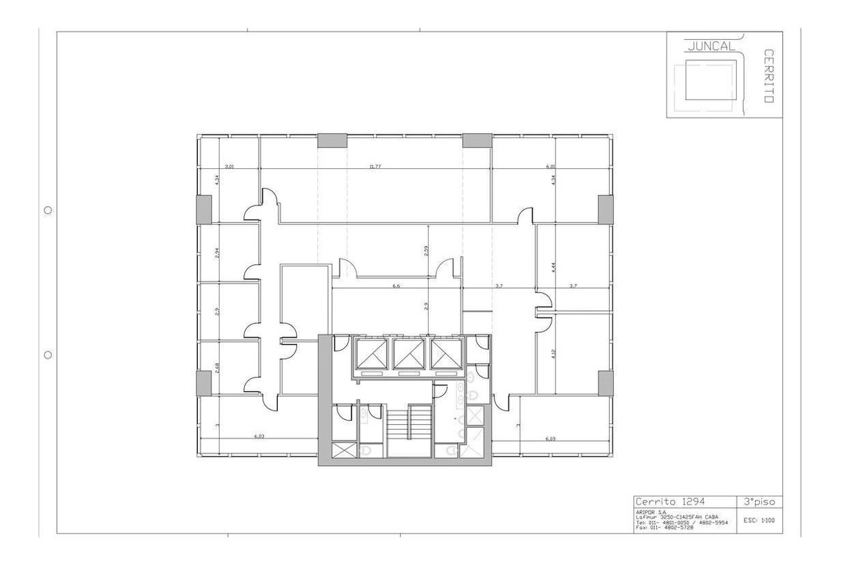 oficina en alquiler - retiro - 315 m2