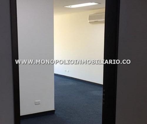 oficina en arrendamiento - el poblado milla de oro cod:10926