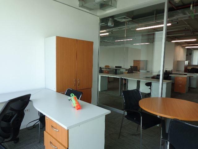 oficina en arriendo de 3 privados en las condes