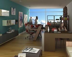 oficina en luma capital milenio con vista panoramica y excel