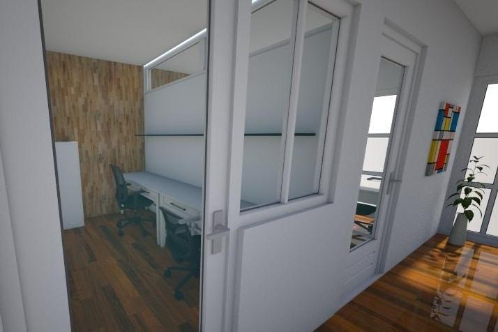 oficina en quilmes centro a estrenar - h. primo y brown
