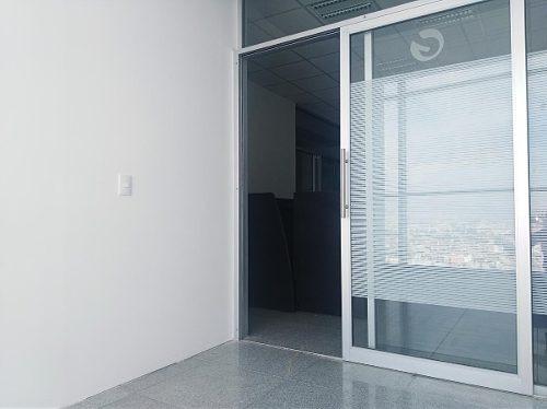 oficina en renta / 99 m2 torre corporativa jv en av. juárez