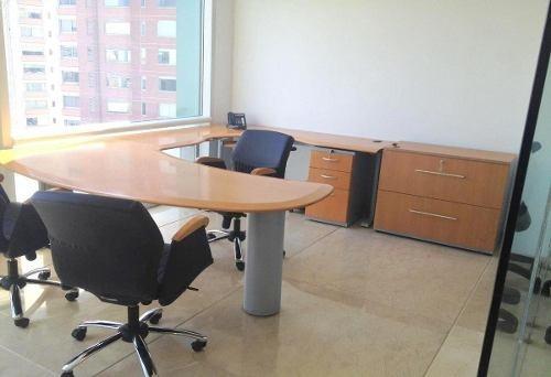 oficina en renta amueblada en bosques de las lomas, cdmx