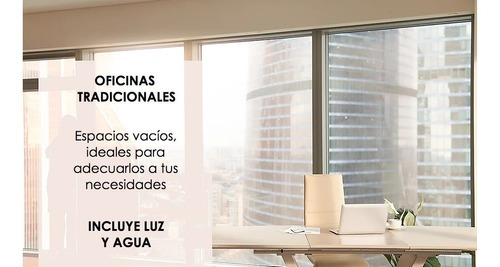 oficina en renta amueblada en reforma centro de negocios