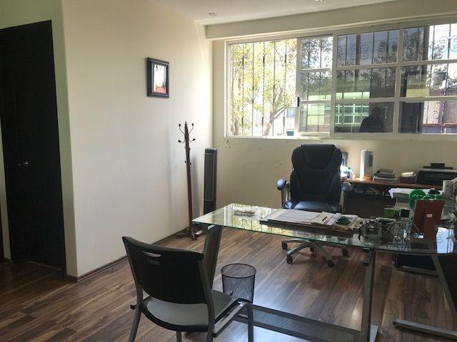 oficina en renta, casa amarilla, reforma pensil.