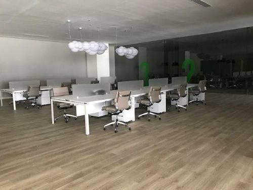 oficina en renta, central park // cor181120b-lr