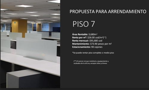 oficina en renta , corporativo polanco