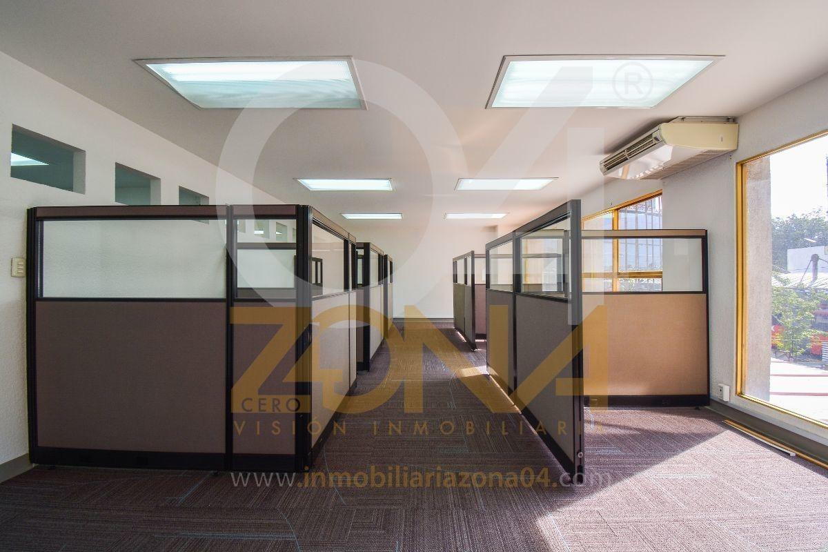 oficina en renta de 265 m2 sobre corredor insurgentes