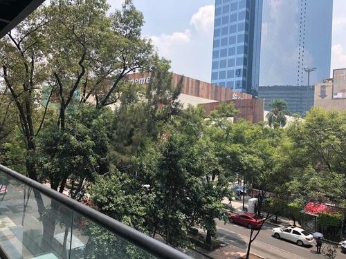 oficina en renta de lujo insurgentes sur, frente a torre wtc de 180m2.