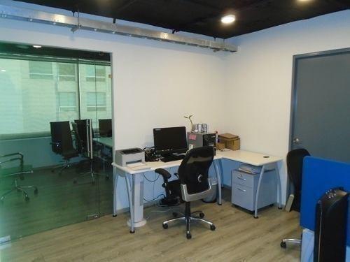 oficina en renta en bosques de las lomas (ecor1880)