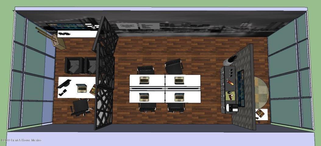 oficina en renta en centro sur # 19-1720