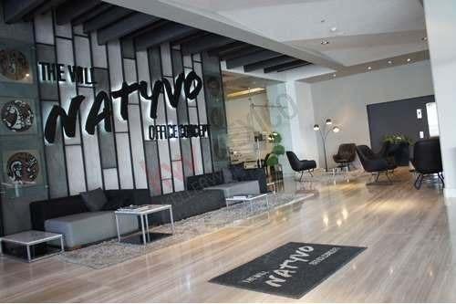 oficina en renta en lomas de angelópolis, cerca de boulevard atlixco, natyvo, angelópolis