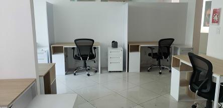 oficina en renta en planta baja sobre avenida universidad colonia chimalistac