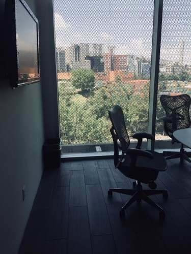 oficina en renta en santa fe (ecor1860)