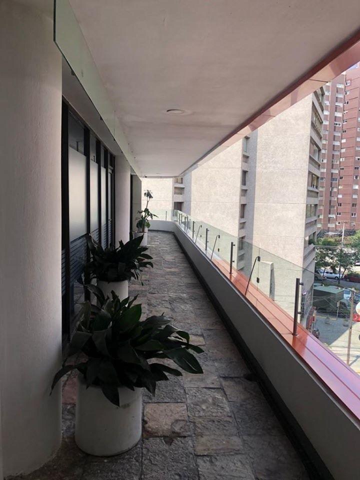 oficina en renta en tecamachalco