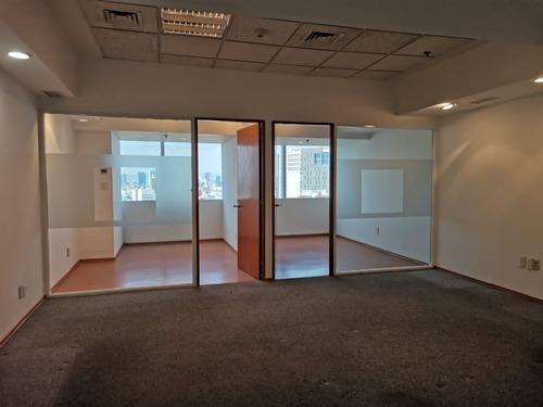oficina en renta en torre wtc piso 15 de 80 m2