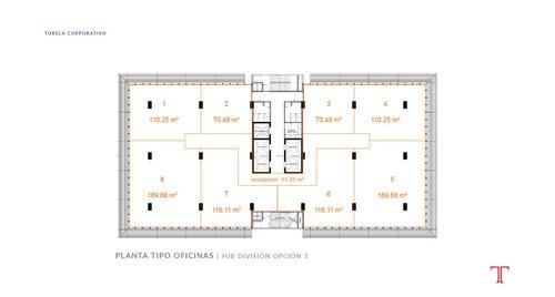 oficina en renta en zona dorada tijuana corporativo torela penth office