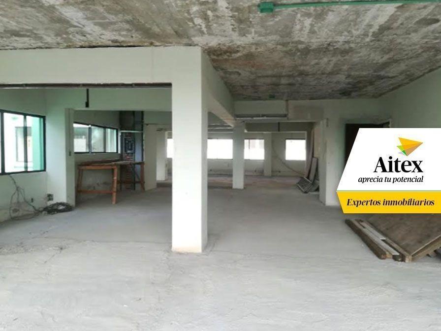 oficina en renta, lista para remodelar, cerca de metro polanco