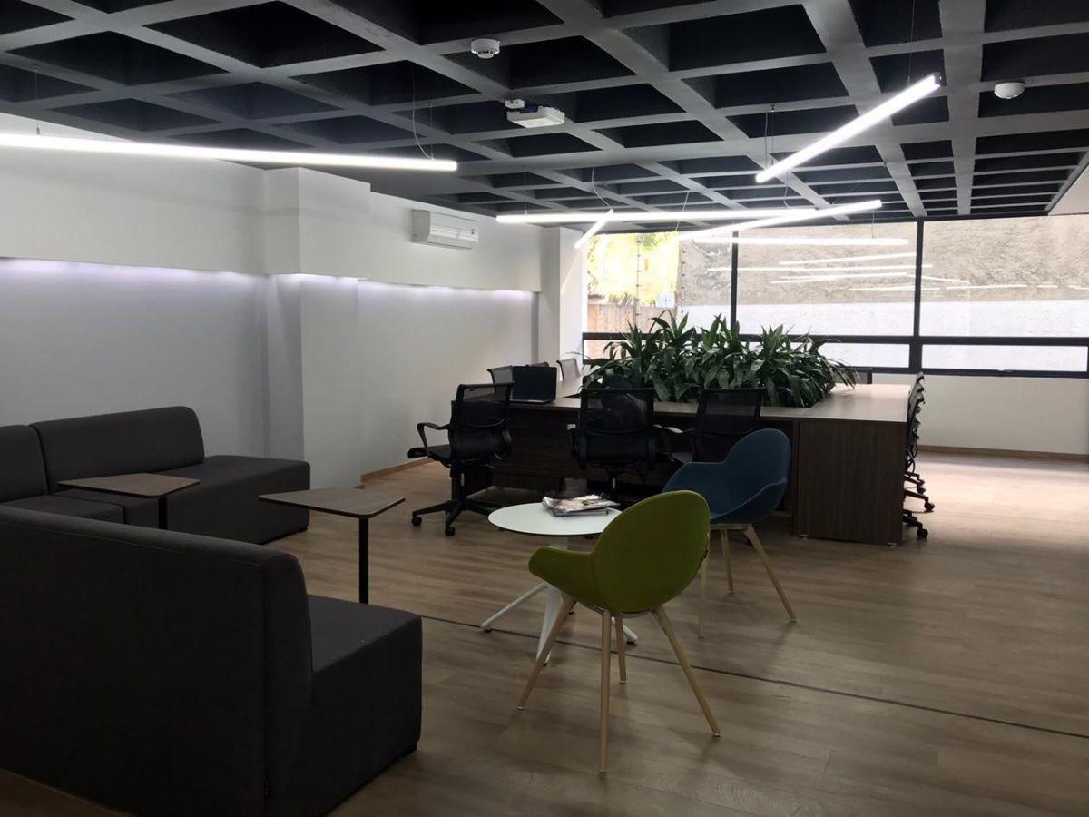 oficina en renta todo incluido, espacios net work colonia nápoles.