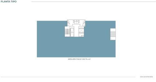 oficina en renta torre cen 333 santa maría monterrey