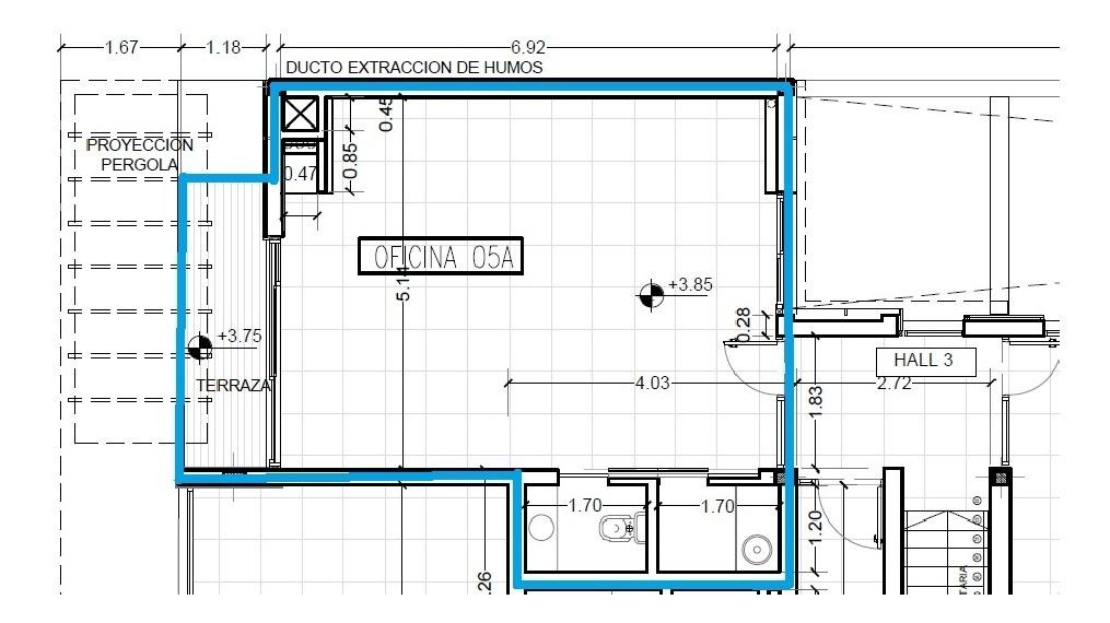 oficina en venta | avda. 31 e/505y507 ( bloque b-ofic. 5a)