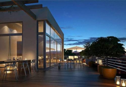 oficina en venta con renta en palermo hollywood - edificio la musa star - usd 195.000.-