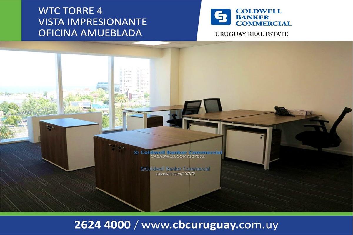 oficina en venta con renta - wtc torre iv - equipada