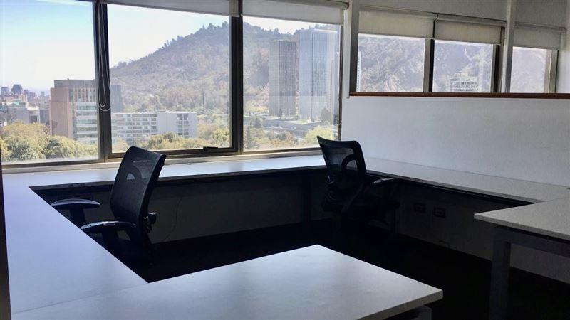 oficina en venta de 13 privados en providencia