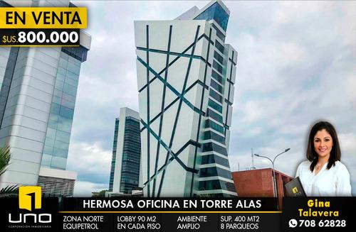 oficina en venta en exclusivo y moderno edificio  torre alas