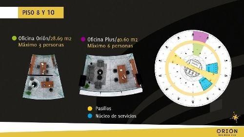 oficina en venta orión business hub, montebello