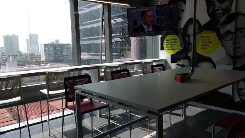 oficina equipada con servicios todos los servicios incluidos para 20 personas.