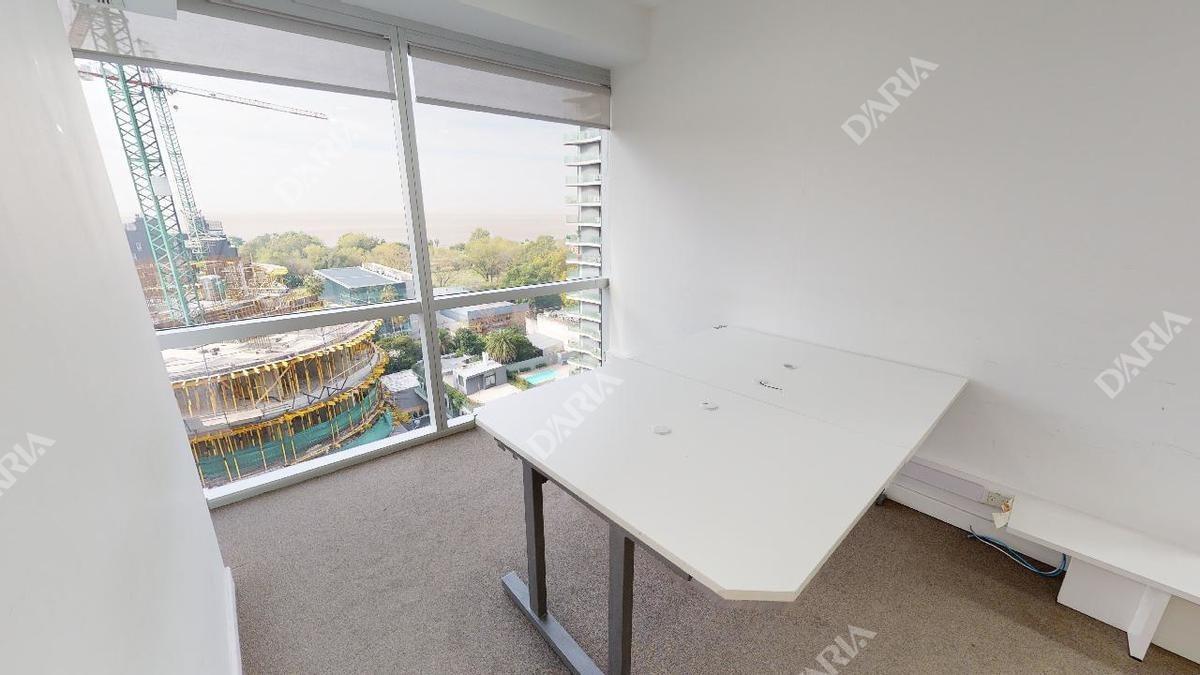 oficina equipada con vista plena al rio y detalles de categoria