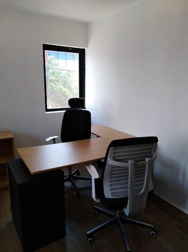 oficina equipada en renta of-072