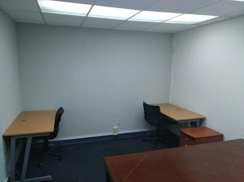 oficina equipada en renta para 3 personas. af5