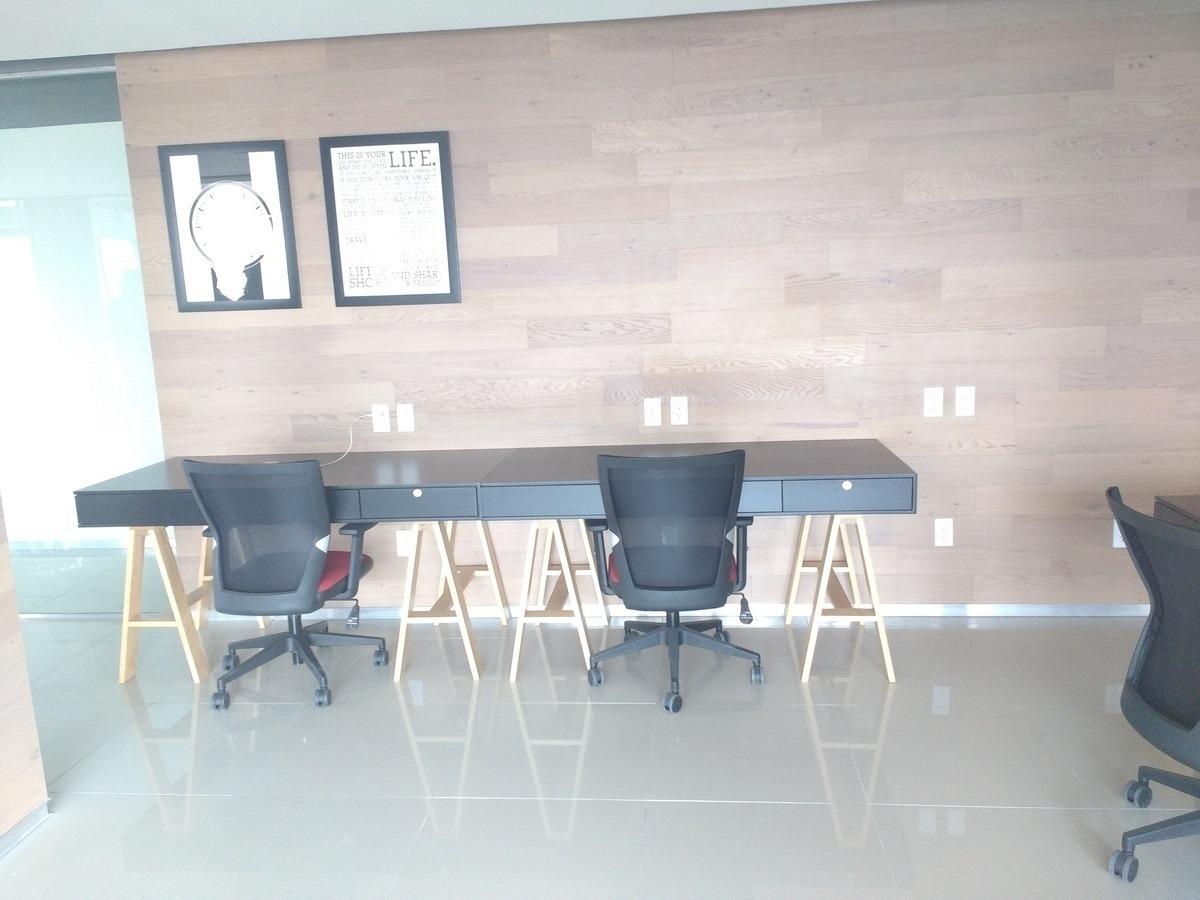 oficina equipada, todos los servicios incluidos para 4 personas. -ai1