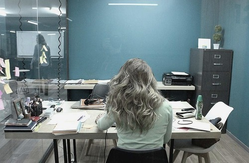 oficina equipada, todos los servicios incluidos para 6 personas. ah