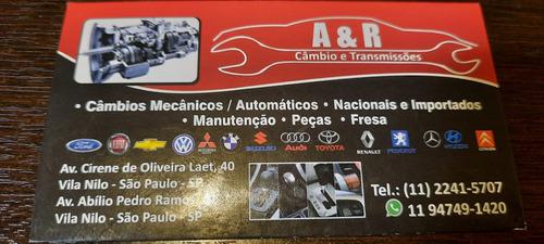 oficina especializada em câmbios manuais e automáticos