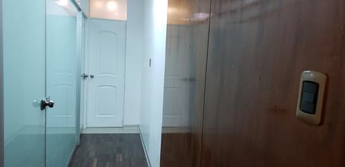 oficina full acabados primer piso mejor ubicación san borja