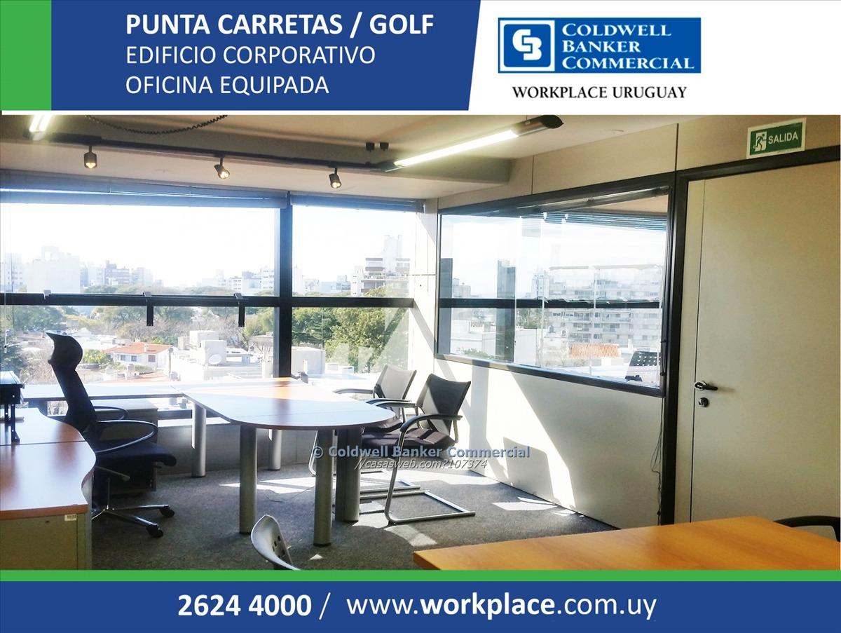 oficina golf en alquiler y venta - equipada