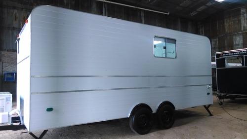 oficina móvil 5,00 mts dob-eje balancin rodantes brandsen