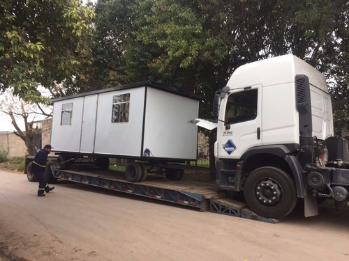 oficina movil 600x240 ,obrador, casilla rural, trailer