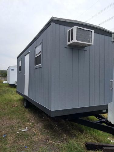 oficina móvil camper remolque caseta sin wc para 7