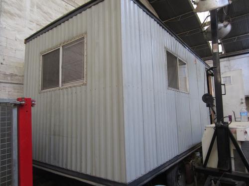 oficina movil casa rodante obra civil 7 metros oficinas
