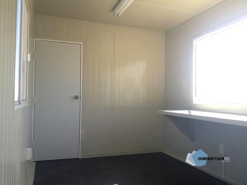 oficina movil, caseta, remolque 8 x 22.6 de multypanel