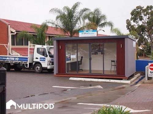 oficina movil estudio habitación construcción sip multipod