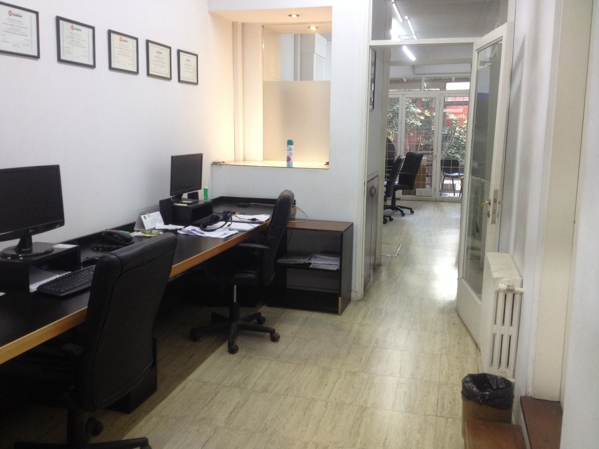 oficina o departamento de 140 metros cubiertos. patio. zona macrocentro.